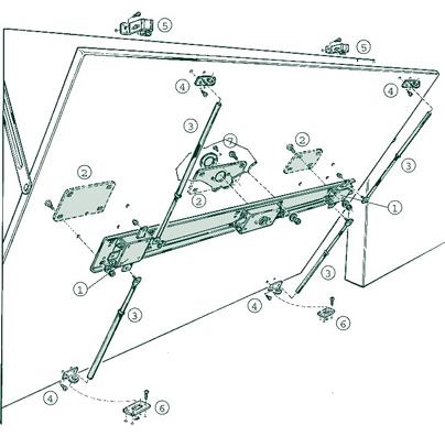 Mottura porte de garage basculante for Porte de garage enroulable avec serrure mottura